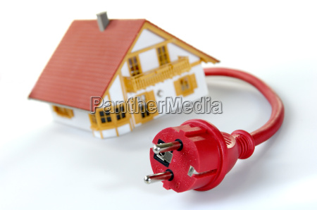 model, house, with, safety, plug - 687973