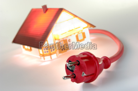 model, house, with, shock-proof, plug - 687963