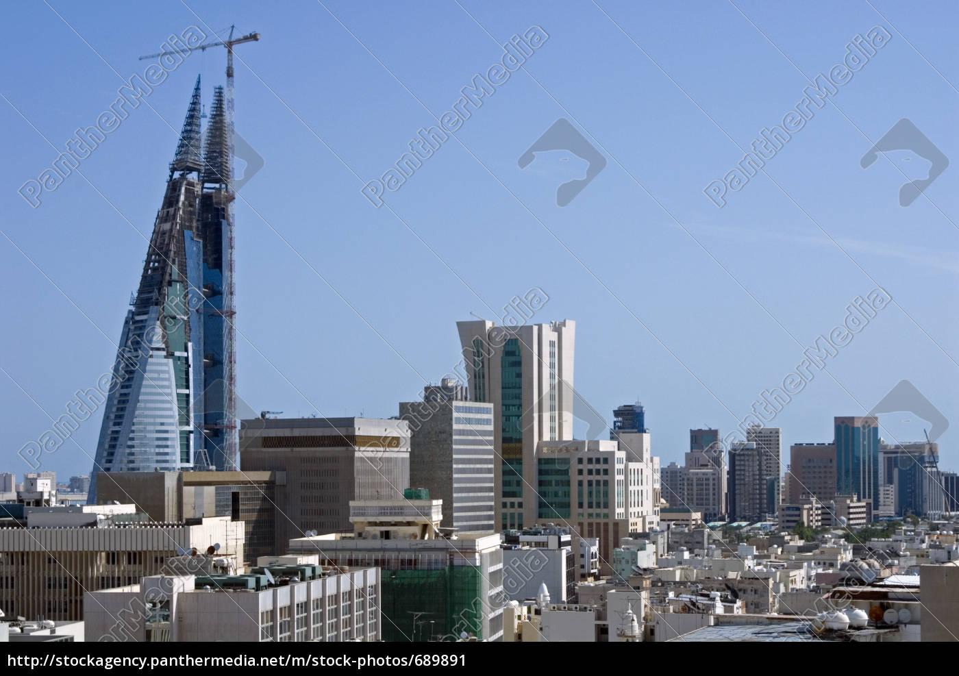 bahrain, skyline - 689891