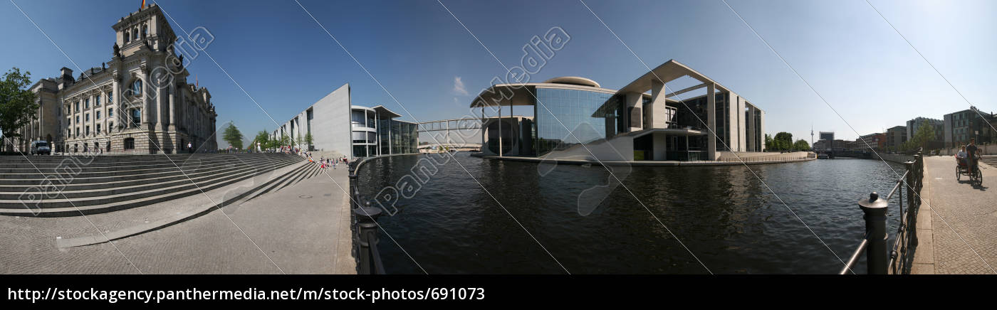 berlin, -, panorama, in, the, government - 691073
