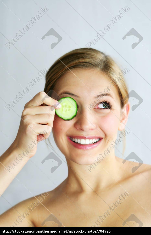 wellness, beauty, cucumber, mask - 704925