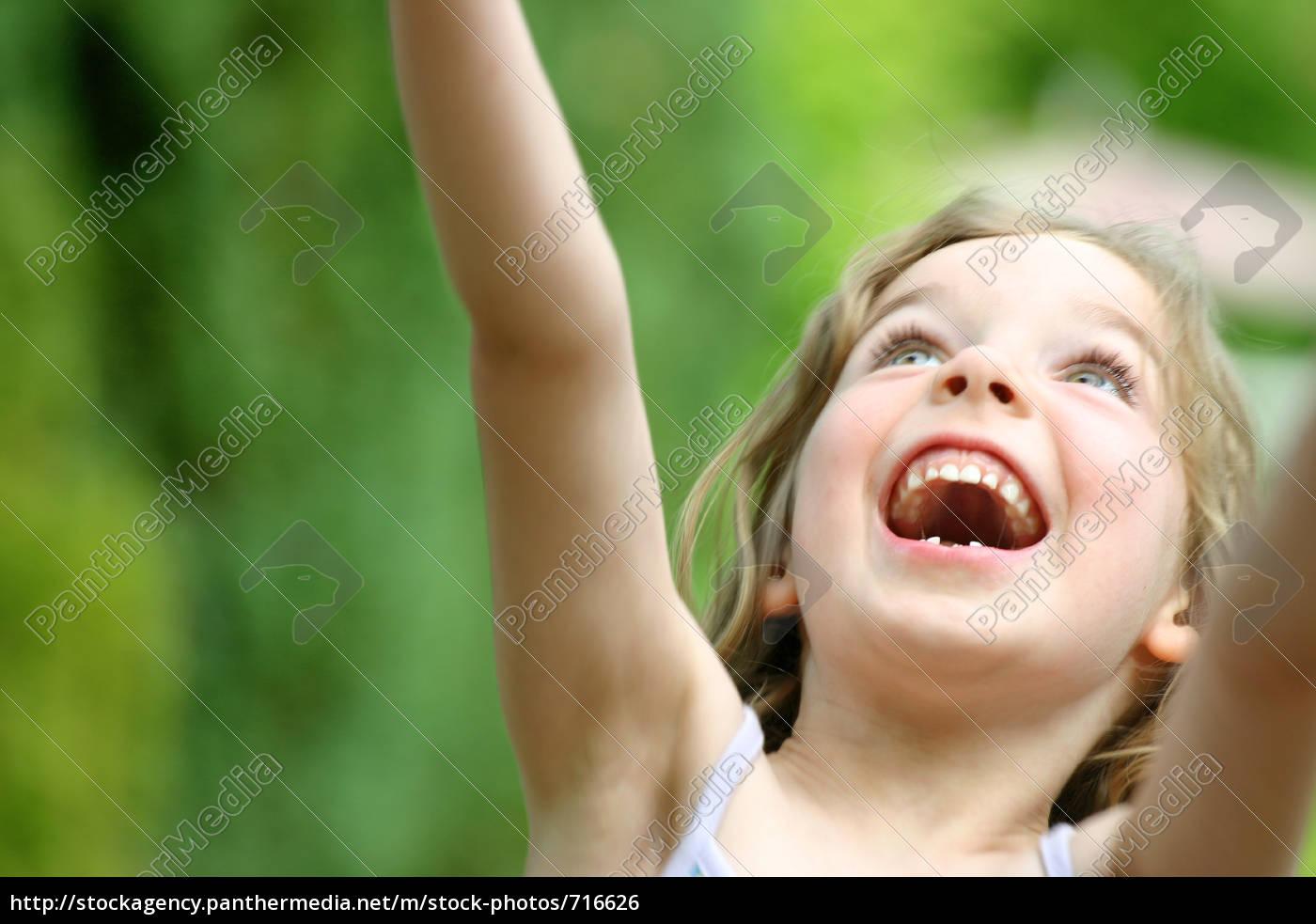 happy, girl - 716626