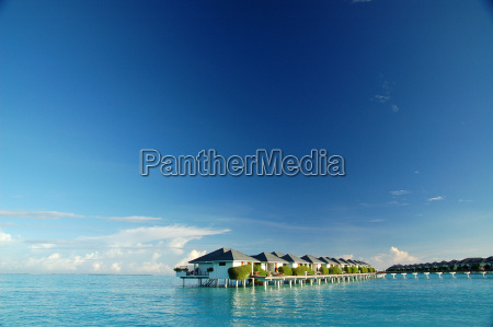 water, bungalows - 717928