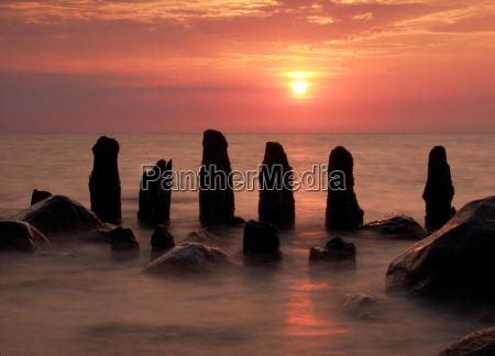 sunset, on, the, beach - 718004