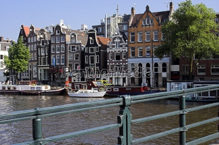 on, the, canal, in, amsterdam - 719614