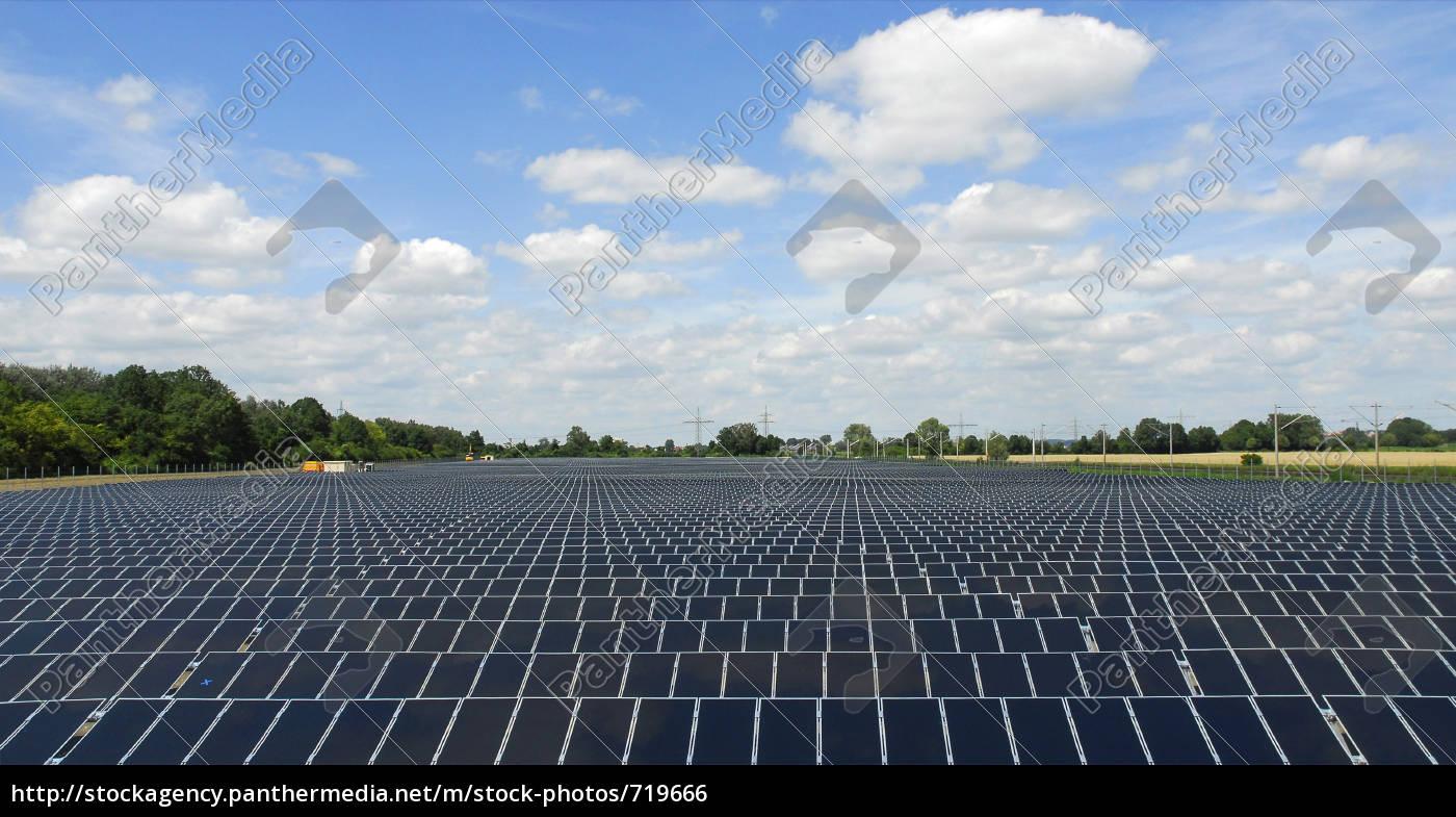 solar, power, plant - 719666