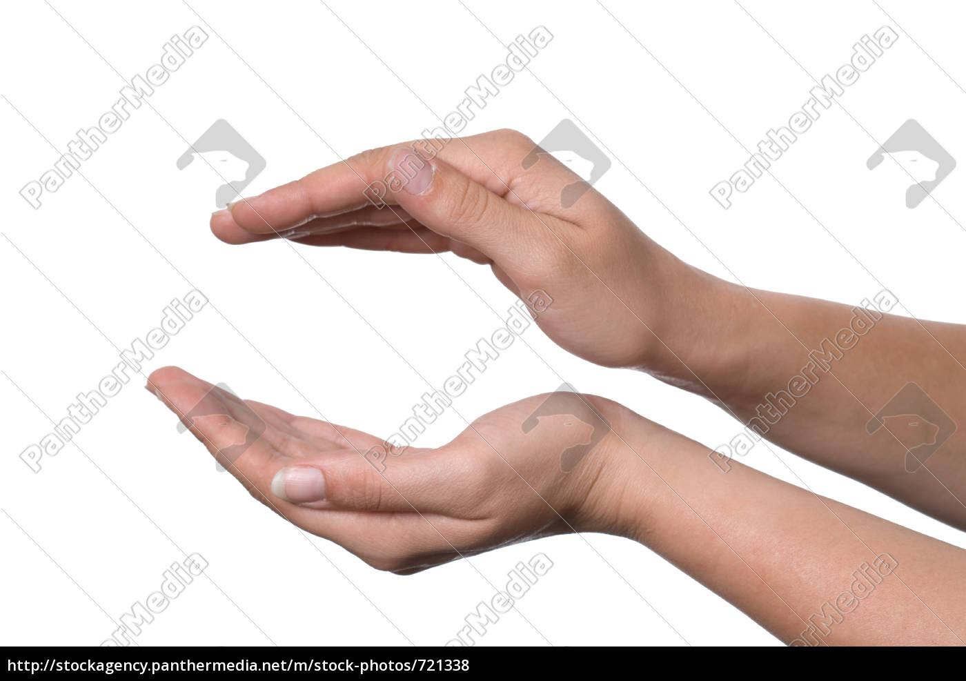 hands, form, ball - 721338