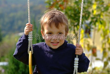 bub on swing