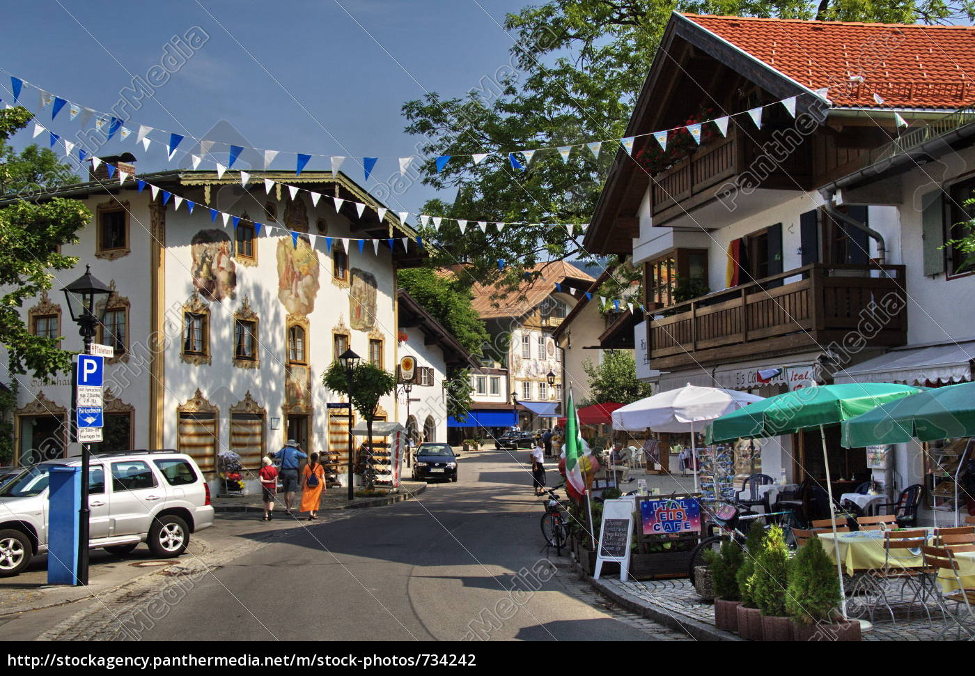 sternplatz, in, oberammergau - 734242