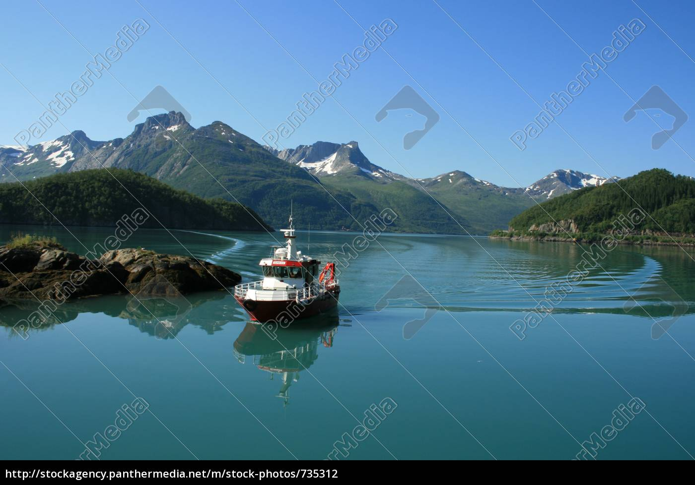 glacier, ferry - 735312