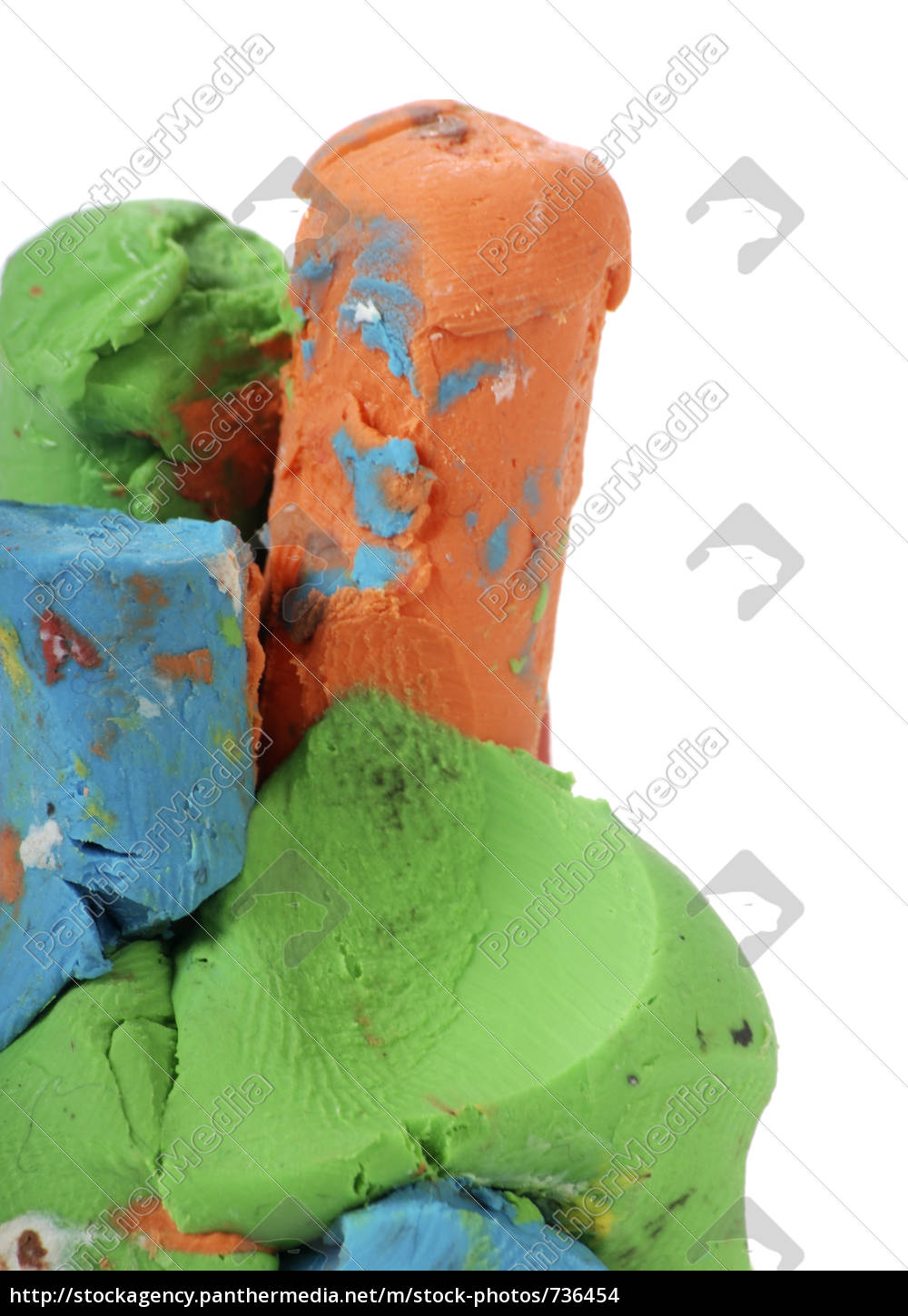 colorful, plasticine - 736454