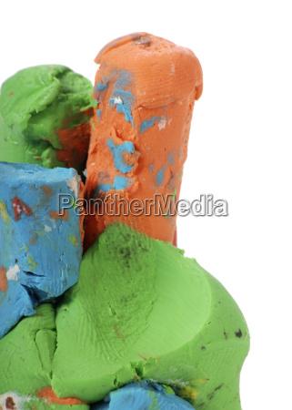 colorful, plasticine - 736454