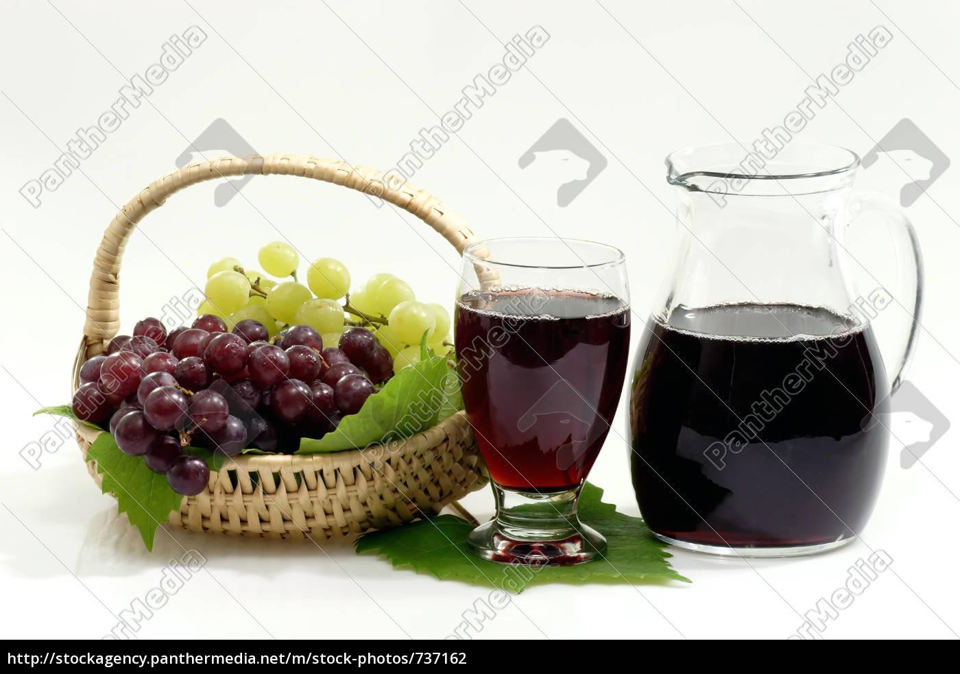 red, grape, juice - 737162