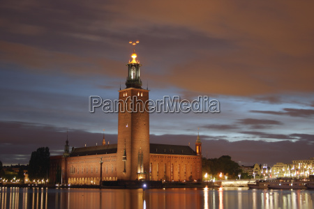 stockholm, city, hall - 738278