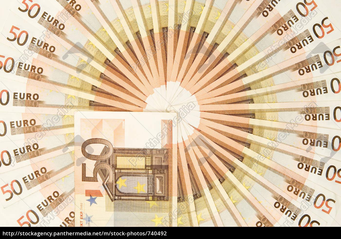 50, euro, money, snail - 740492