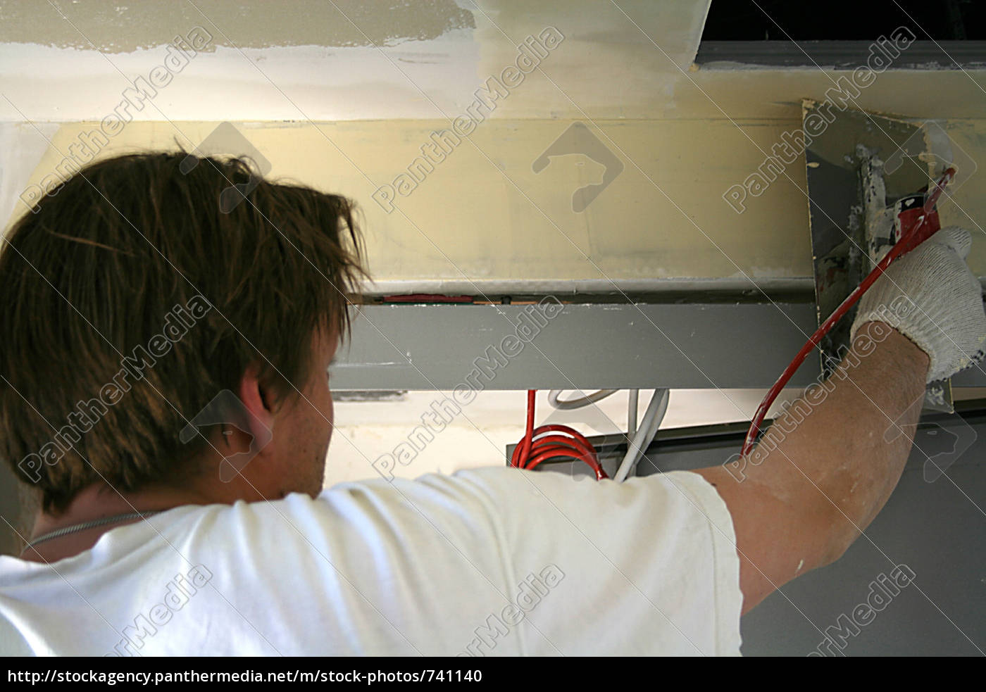 drywall, installers, at, work - 741140