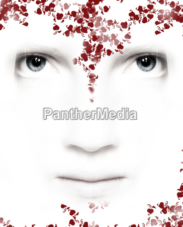 white, beauty, face - 741752
