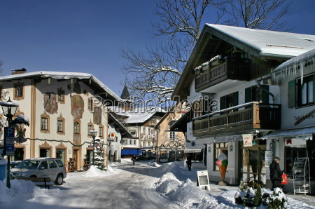 winter, in, oberammergau - 743458