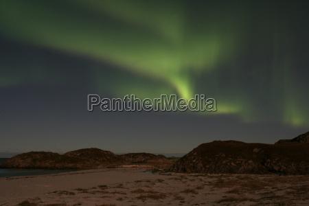 auroral, beach, norway - 754901