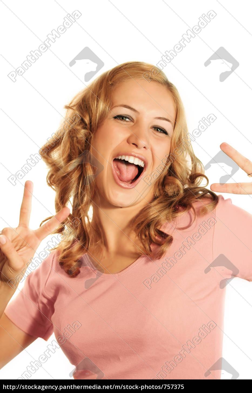 laughing, woman - 757375