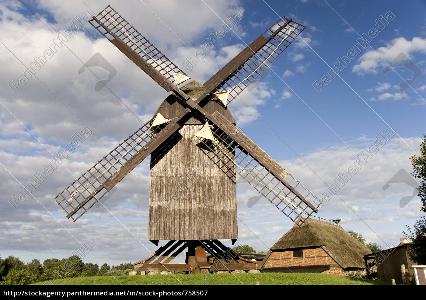 windmill, eldena - 758507