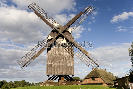 windmill, eldena - 758507