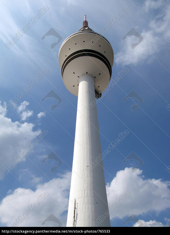 television, tower, in, hamburg - 765533