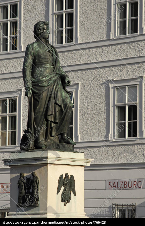 mozart, in, salzburg - 766423