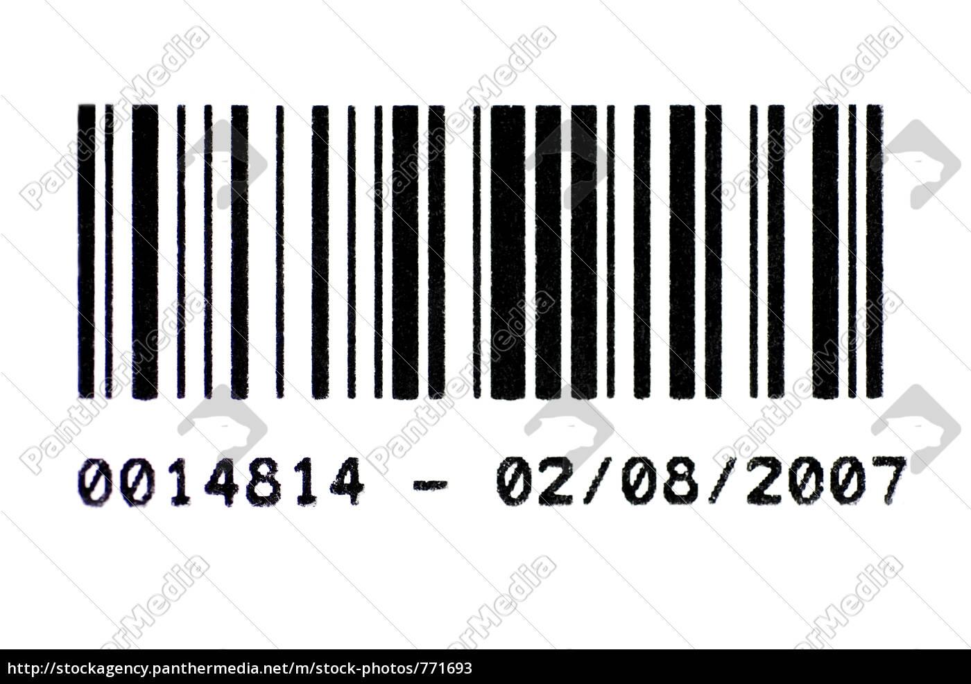 barcode, 01 - 771693