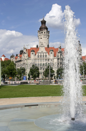 new, town, hall, in, leipzig - 771349