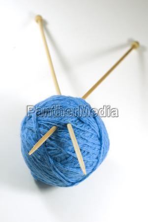 knitting, needles - 773679