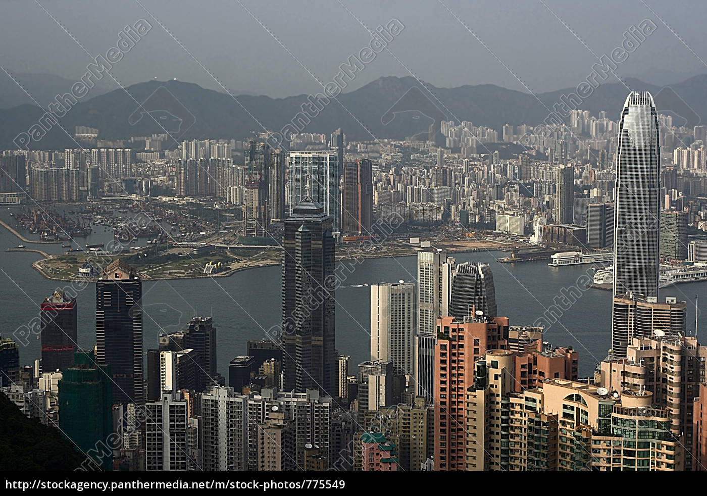 hong, kong, skyline - 775549