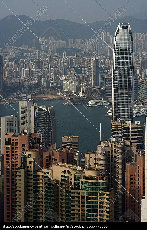 hong, kong, skyline - 775755