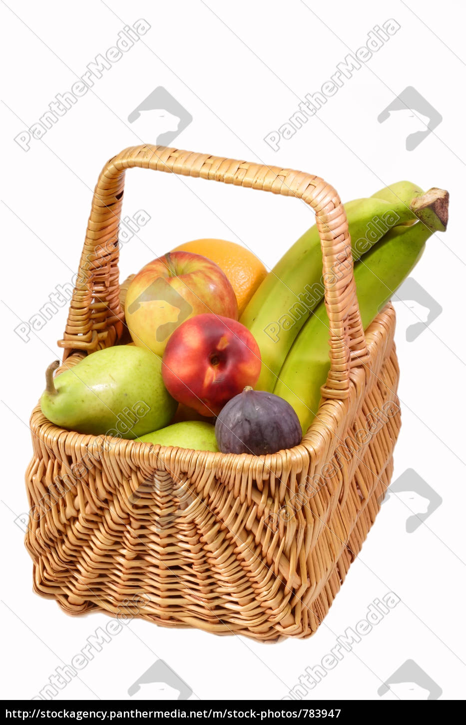 full, fruit, basket - 783947