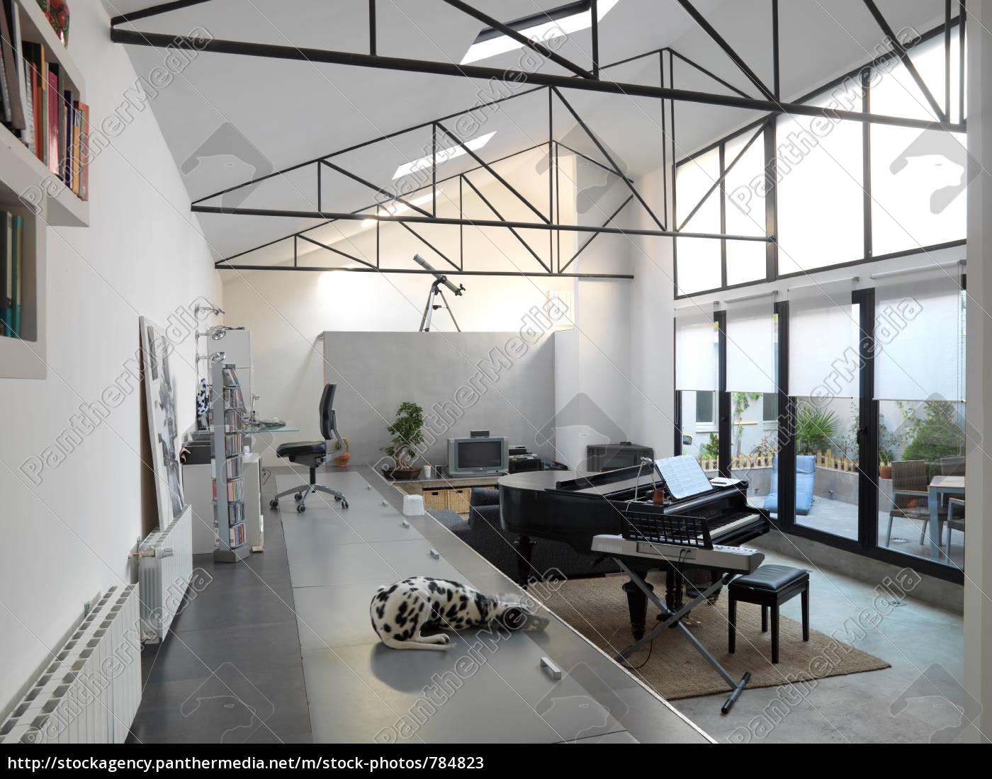 piano, and, dalmatian, loft - 784823