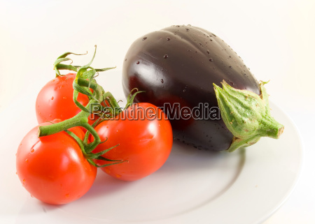 tomatoes, and, eggplant, -, isolated - 786887