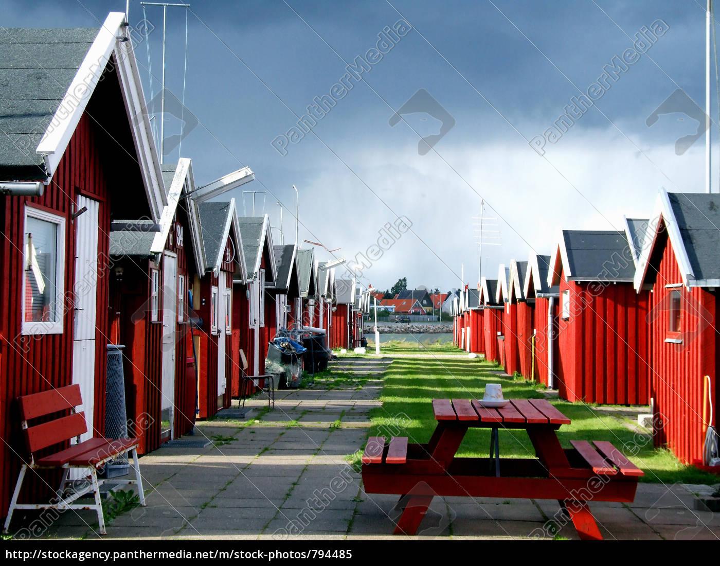fishing, huts - 794485