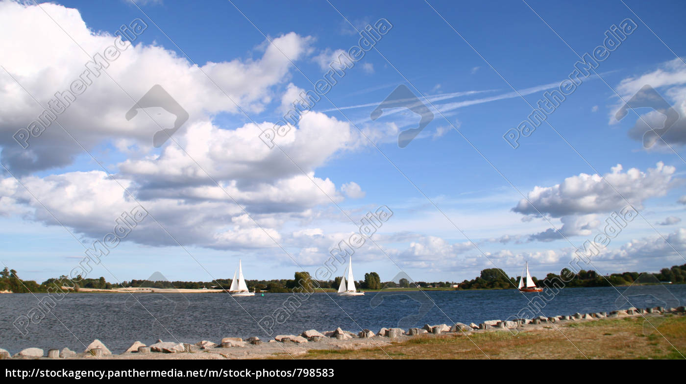 sailboats, on, the, schlei - 798583