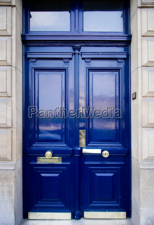 door, in, royal, blue - 801253