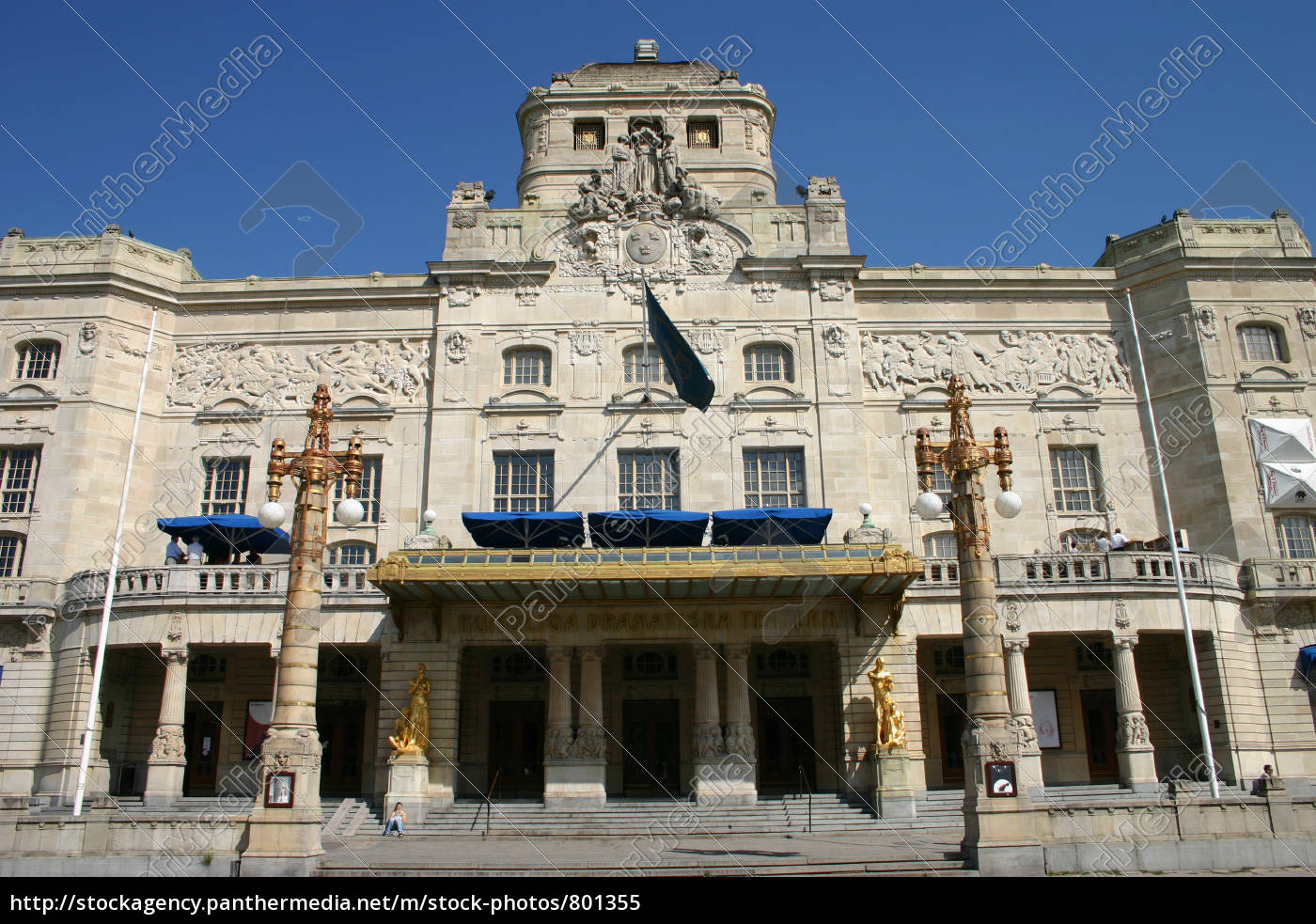 dramatic, theater, in, stockholm - 801355