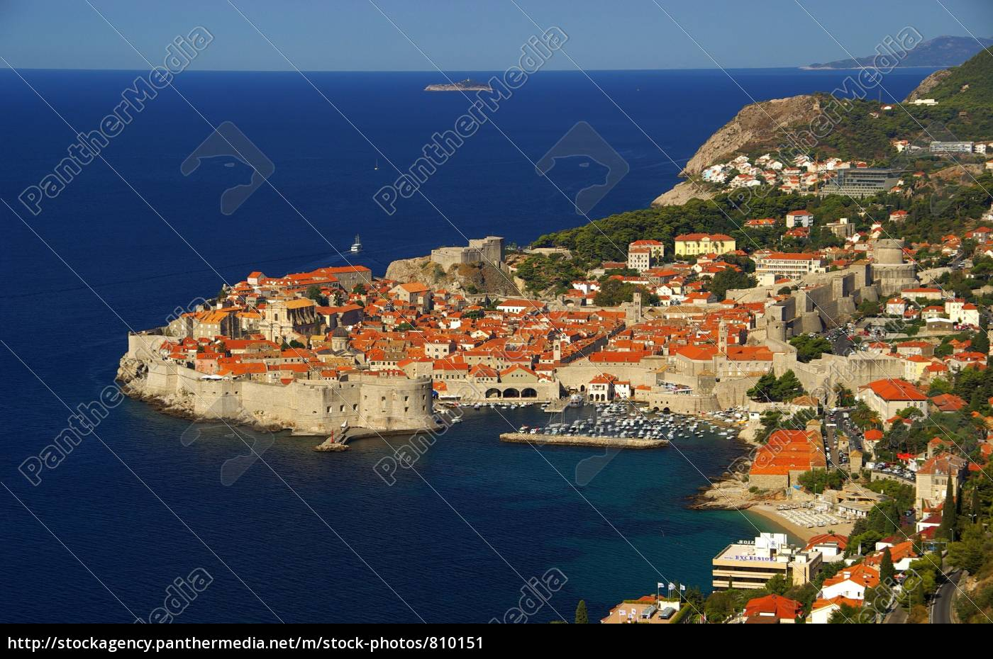 dubrovnik, from, top, 05 - 810151