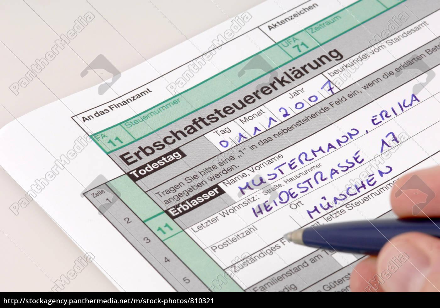 inheritance, tax - 810321