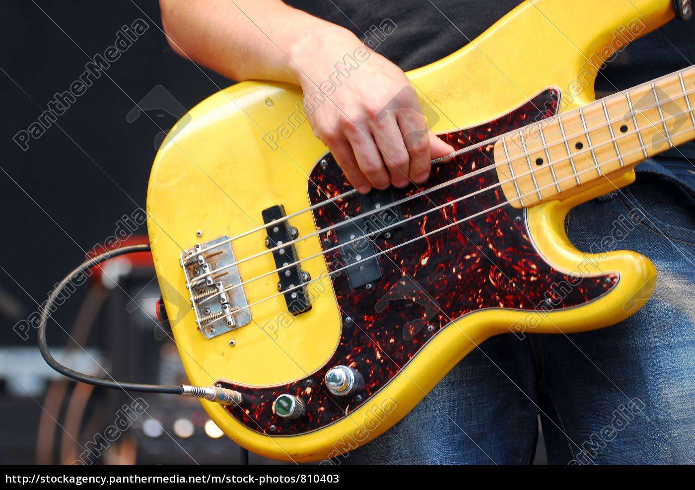 yellow, guitar - 810403