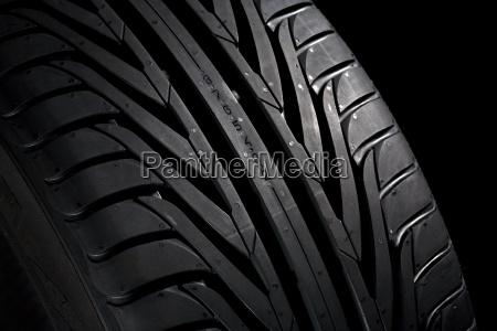 tread new tire