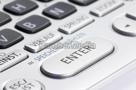 keypad, with, enter, key - 815575