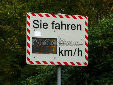 sign signal drive measured sured measure