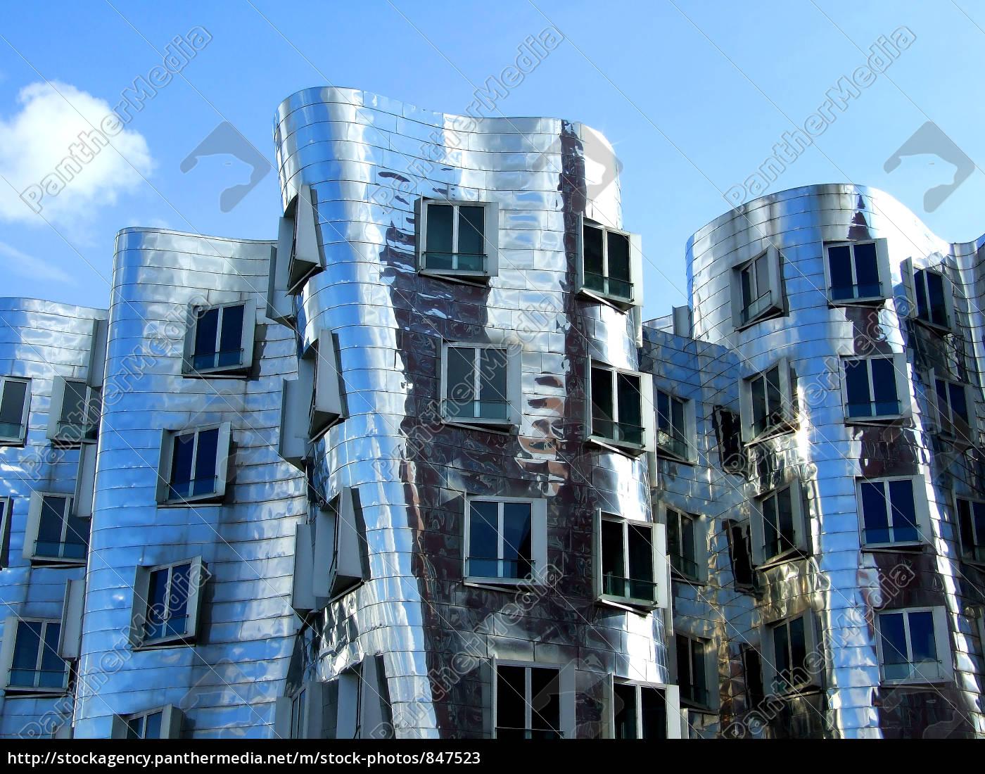 gehry, buildings, düsseldorf, iv - 847523