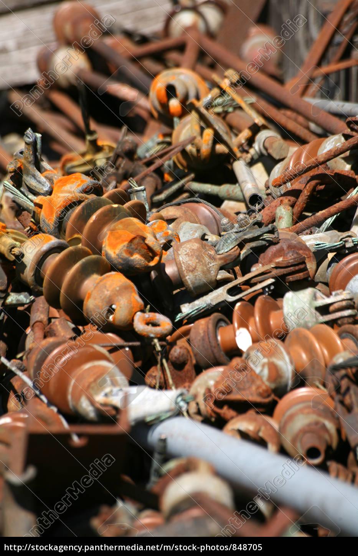 scrap, metal - 848705