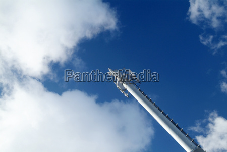 mobile end mast