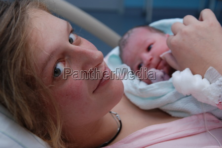 anne after birth